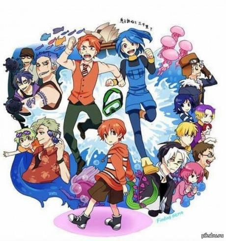 """Если бы """"В Поисках Немо"""" был аниме... Вы бы смотрели? :)"""