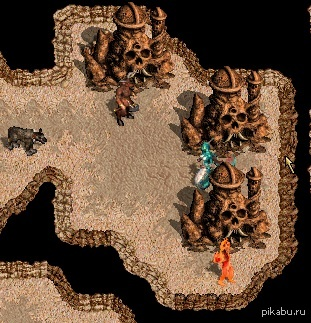 Больше подземелий создало на случайной карте