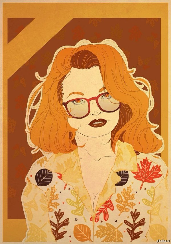 Осенний арт Один хороший художник нарисовал мой портрет, так получилось, что почти к моему дню рождения.   И это не реклама)
