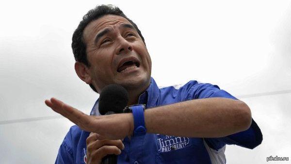На выборах президента в Гватемале победил комик Джимми Моралес