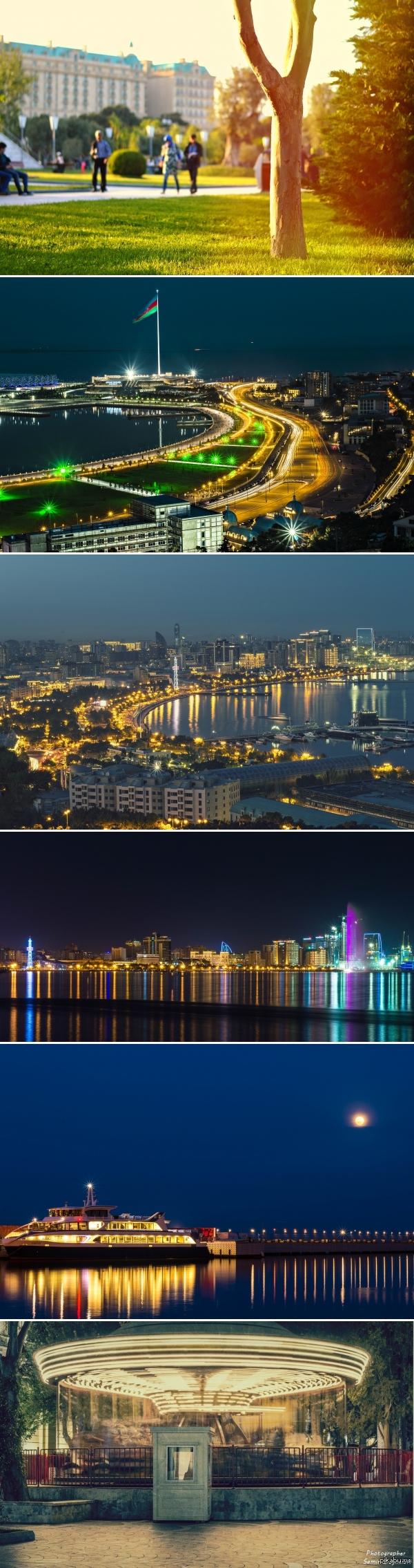 Виды Баку фото с моих прогулок, снимал на никон д3200 и портретник