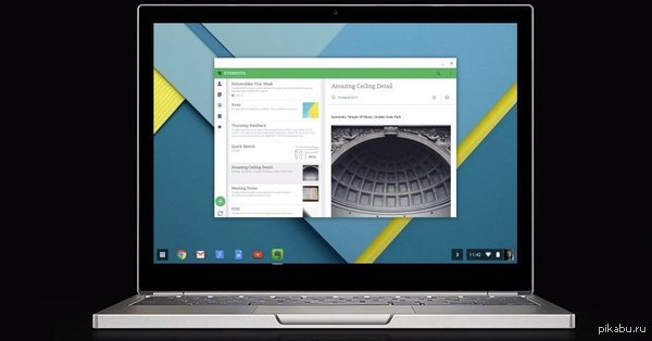 Компания Google собирается уже в 2017 году выпустить новую, единую ОС для мобильных и ПК — Android, который впитает в себя Chrome OS. Фактически они собираются перенести Android на PC.  Новость целиком https://hi-tech.mail.ru/news/android-goes-pc/  Hi-Tech. Mail