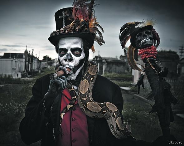 Барон Суббота, если в Вуду поиграть охота Хэллоуин грядущий: новые и старые образы