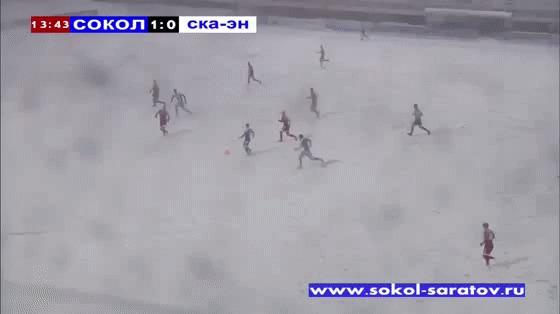 Российские газоны такие мягкие © ... Но, холодные)