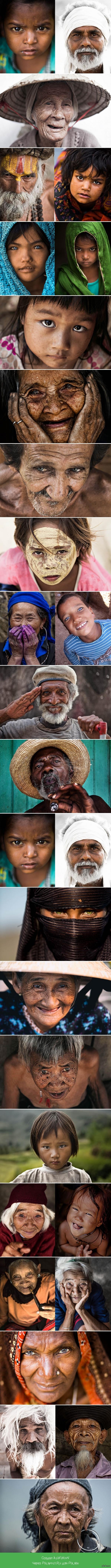 Пронзительный взгляд Фотопортреты людей с проникновенным взглядом