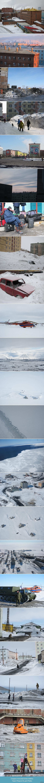 Север. Май 2012 (1) Из Норильска в Диксон. Мониторить белого медведя в Карско-Баренцевом бассейне