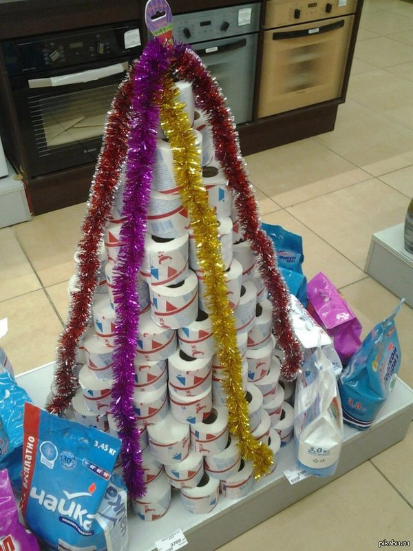 Кажется, это очень полезная елка на новый год