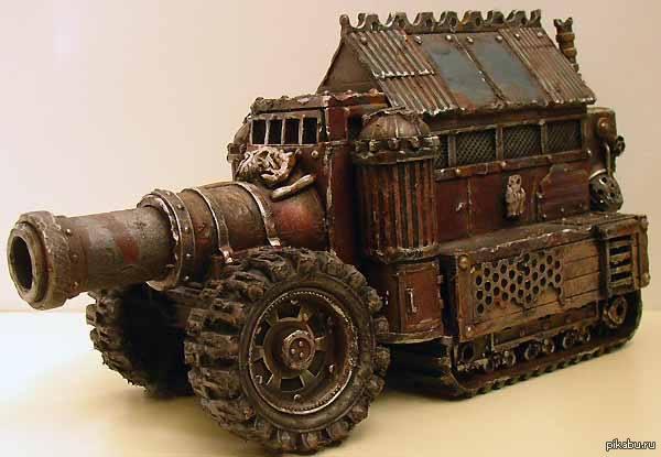В помощь Арсену Авакову предлагается ещё одна инновационная модель танка Жмеринка для ведения городских боёв.