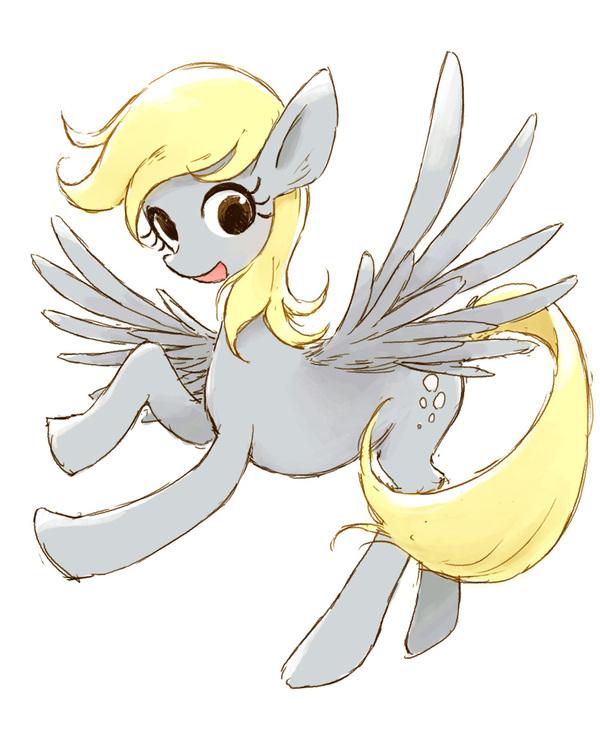 Пока искал материалы для предыдущего поста... My little pony, Арт, Derpy Hooves, Sumashi