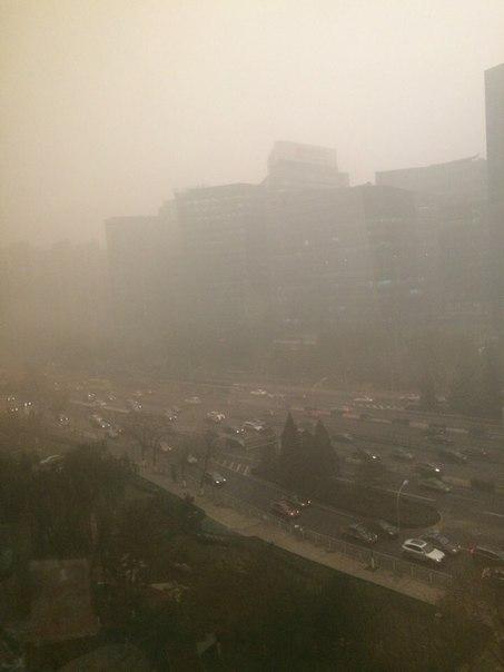 Пекинский Сайлент-Хил (от знакомого) пекин, смог