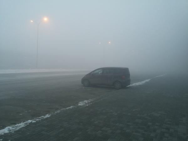 Туманчик Silent hill, Туман, Челябинск