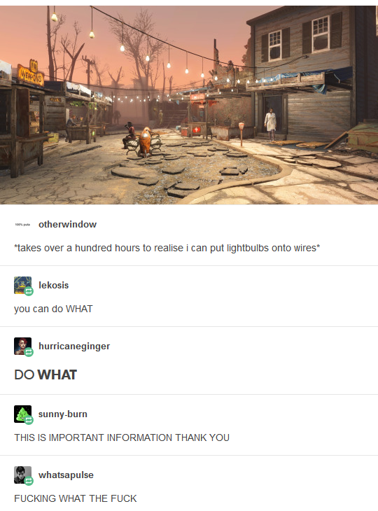 Вон оно как! Fallout 4, Ламповый мир, Теплый ламповый звук