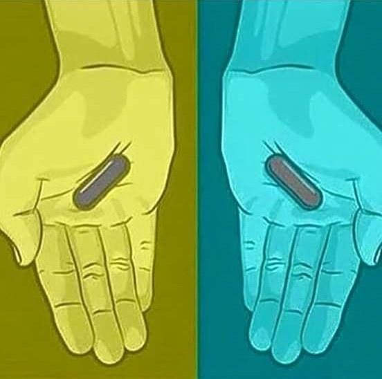 От создателей «Какого цвета платье?» - Какого цвета таблетки? таблетки, платье, цвет, какого цвета таблетки