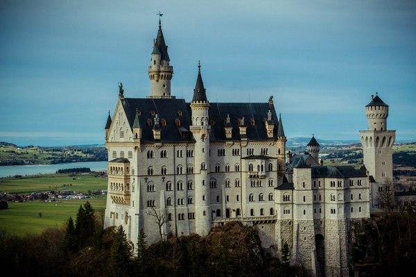 Замок Нойшванштайн, замок Хоэншвангау и немного Мюнхена. Рождество, год назад Рождество, Нойшванштайн, Германия, Мюнхен, длиннопост