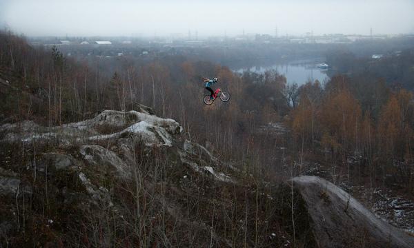 Красивые фотографии- вело дисциплина свободная езда и внизхолм=Ъ Велосипед, Даунхилл, Фрирайд, Фотография, Длиннопост