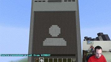 Видеозвонок в Minecraft