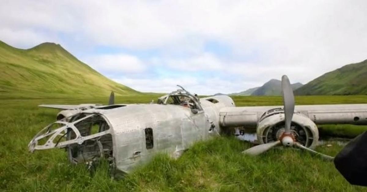 Разбившиеся, аварийные самолеты второй мировой войны.