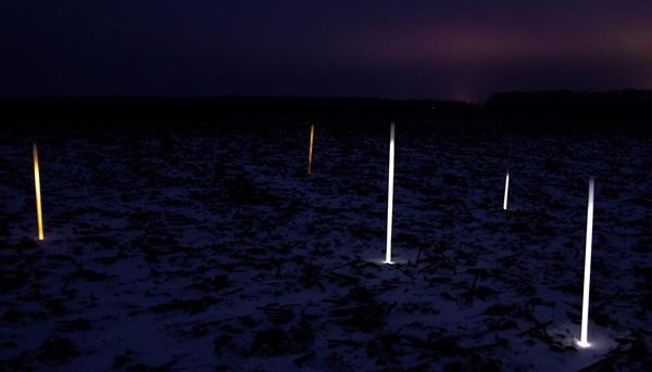 Люминисцентные лампы под ЛЭП ЛЭП, Физика, Мистика, Загадка, Лампа, Индукция, Электрическое поле, Star wars