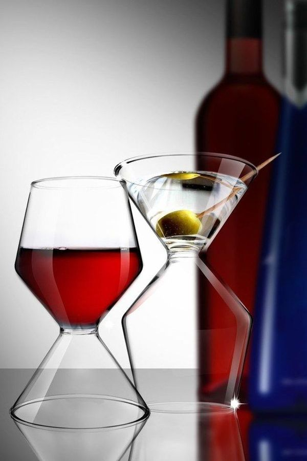 Подборка оригинальных бокалов Бокал, Алкоголь, Очень скоро Новый год, Баян, Длиннопост