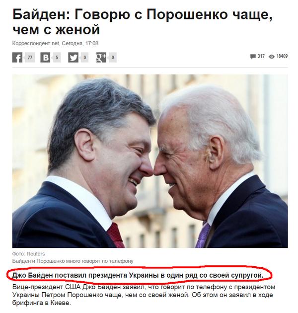 Особенности международной политики Украина, Политика