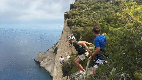 180 метров Прыжок, 180 метров, Страх, Экстрим, Гифка