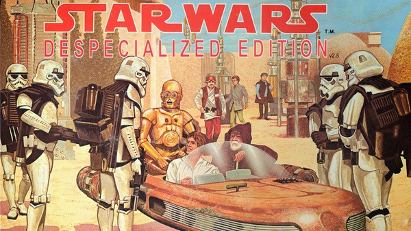 Star Wars Despecialized Edition Star wars, Despecialized Edition, Видео, Длиннопост