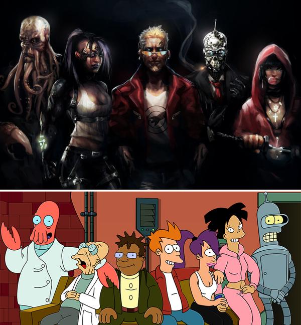 Секси герои из мультиков