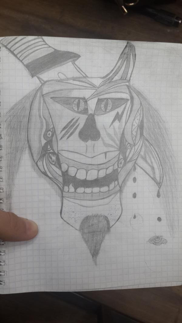 Друг добрался до карандашей Карандаш, Друг, Ручка, Рисунок, Рисунок карандашом, Анархист, Глаза, Наркомания, Длиннопост