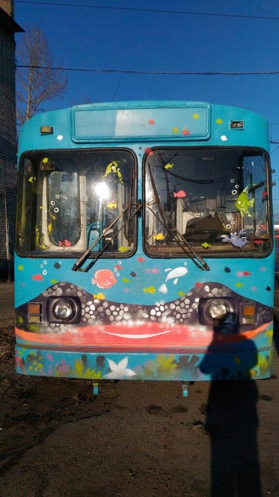 Морской троллейбус Троллейбус, Вмз-170, Длиннопост