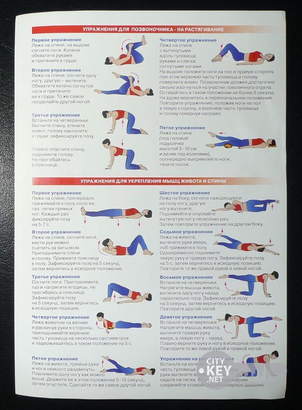 Какие упражнения делать после операции на позвоночнике