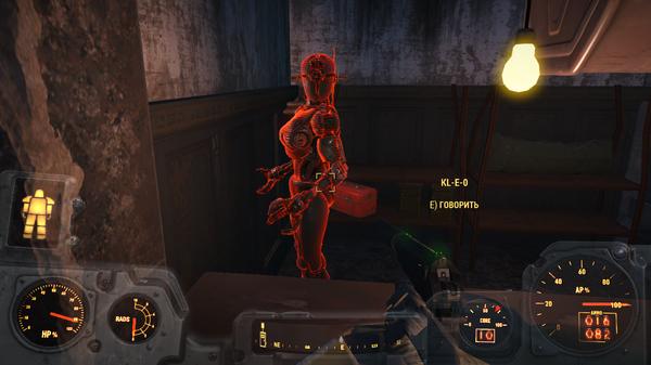 Fallout 4 поговорить с келлогом баг