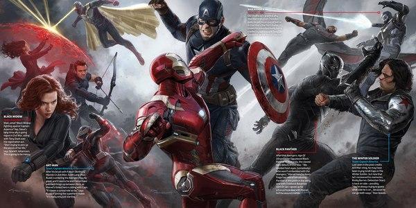 Концепт-арт «Captain America: Civil War» Мстители, Концепт-Арт, Первый мститель:Противостояние