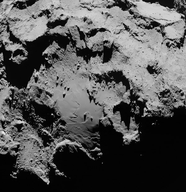 Розетта прислала новые фотографии Розетта, Комета Чурюмова-Герасименко, Комета, Космос