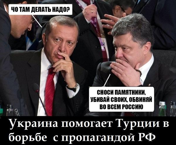 Эрдоган хочет узнать тайну украинской перемоги Политика, Украина, Порошенко, Турция, Эрдоган, Сатира, Перемога, Пропаганда
