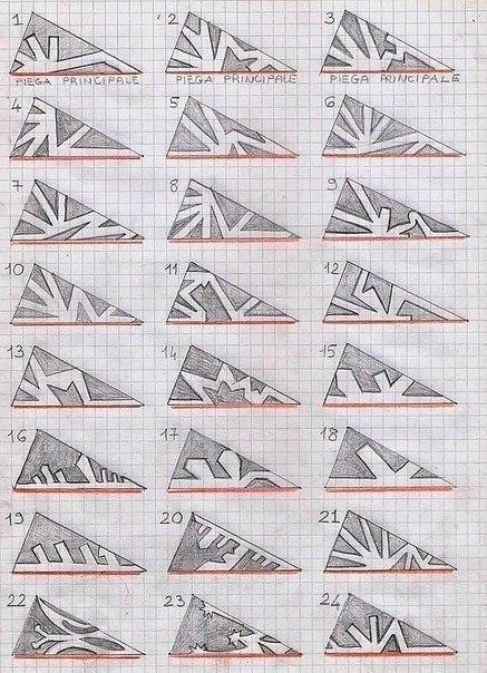 Схемы вязания спицами разнообразных узоров из кос