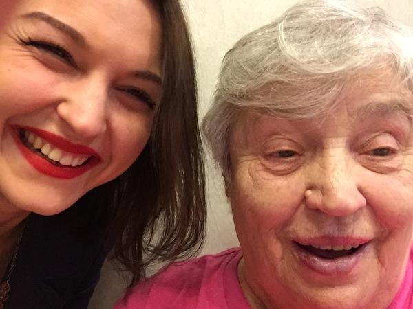 Бабушка и селфи Бабушка, Селфи, Изумление