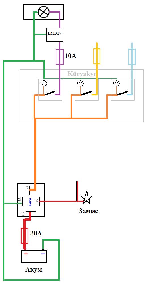 Дополнительная электрика - что куда Мото, Электрика, Дополнительная электрика, Реле, Проводка, Своими руками, Длиннопост