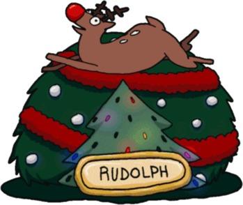 Новогоднее настроение :D Олень, Новый год, Вечеринка, Своя атмосфера, Гифка, Длиннопост