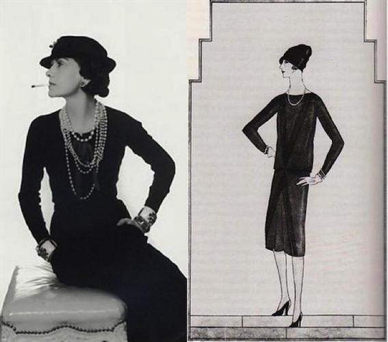 Три культовых женских предмета гардероба от легендарной Коко Шанель. Chanel, La petite robe noir, Кофта, Длиннопост, Кбг