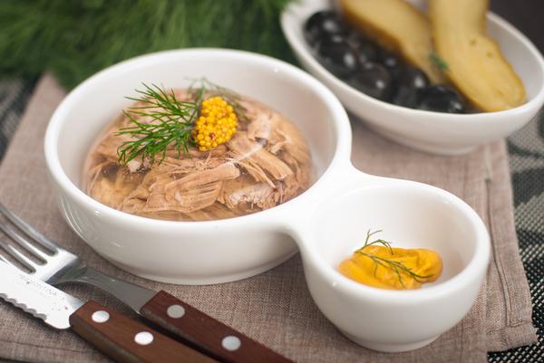 Мой базовый холодец. Основной вариант. холодец, рецепт, из Одессы с морковью, Бра, длиннопост, кулинария, еда