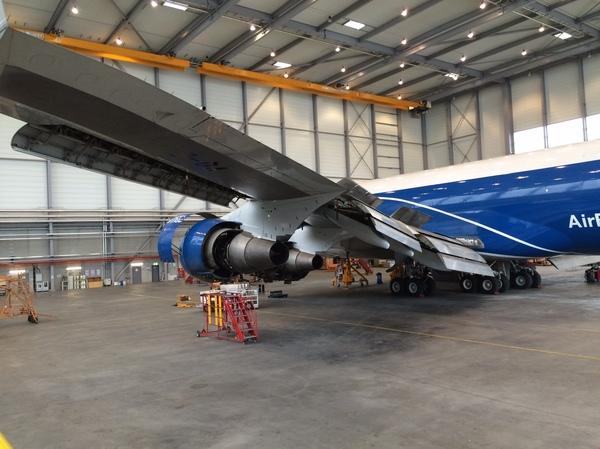 ТО самолёта Boeing 747-400EFR Самолет Боинг, Работа, Техника, Длиннопост