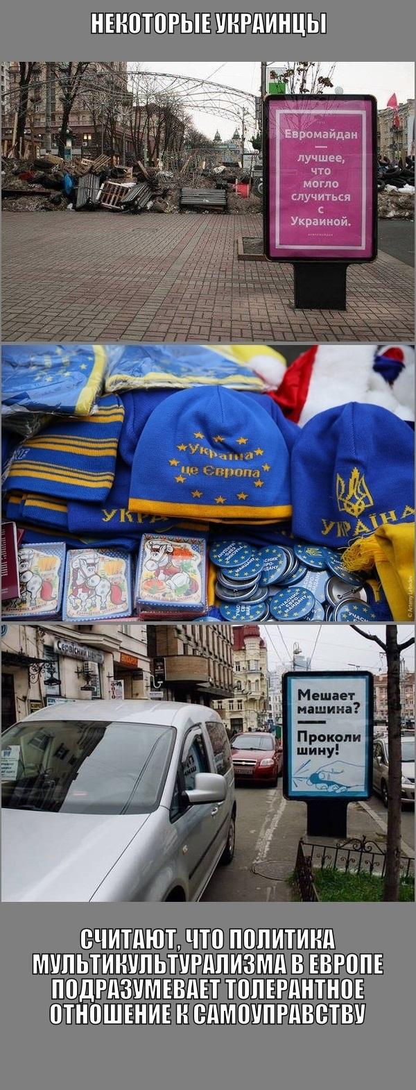 Некоторые украинцы... Украинцы, Украина, Пропаганда, Смута, Реклама, Мультикультурализм, Политика, Длиннопост