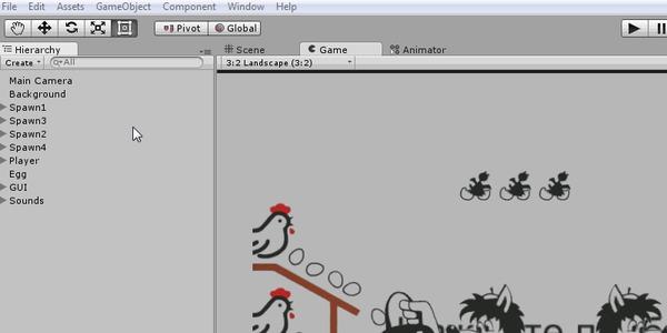 """Разработка 2D игры на Unity (4/5) """"Игровая логика"""" Unity, Gamedev, 2D, Игры, Урок, Длиннопост, Текст, Гифка"""