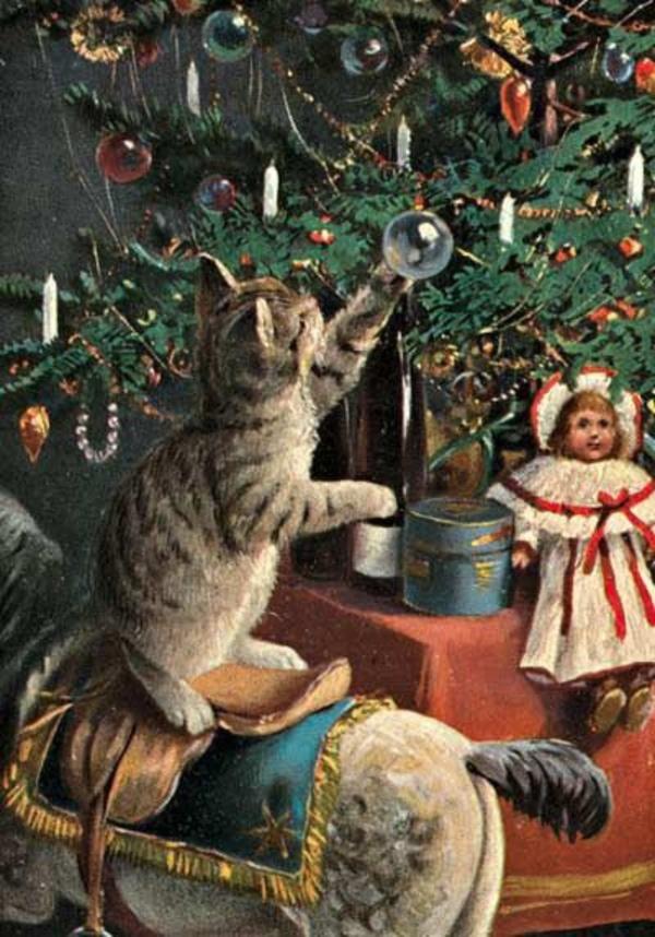 Новогодние открытки. длиннопост, открытка, новогодняя открытка, Новый Год