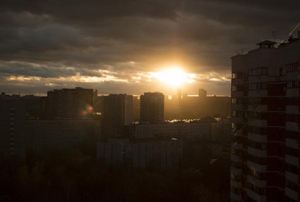 Декабрьский закат