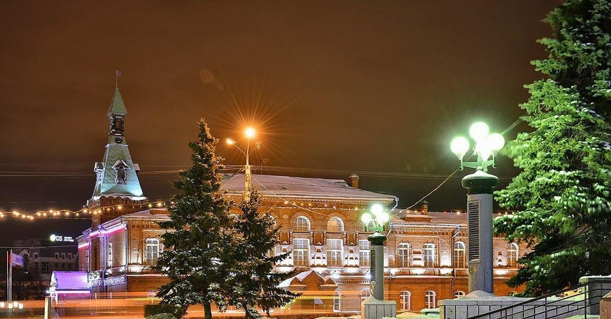 Красивые фото омска зимой того
