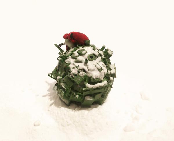 Новогодний шар смерти генарала Мороза. Шар, Новогодняя елка, Ёлка, 2016, Модели, Длиннопост