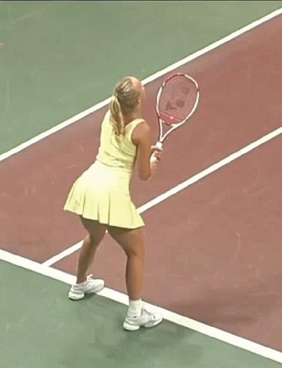 Теннис большой пенис