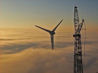 Энеркон Е-126. Самый большой ветрогенератор в мире. Ветрогенератор, Интересное, Большой, Длиннопост
