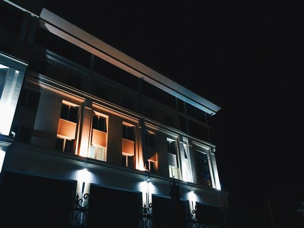 Немного ночного Томска Томск, Фото, Фотографы Томска, Ночь, Длиннопост